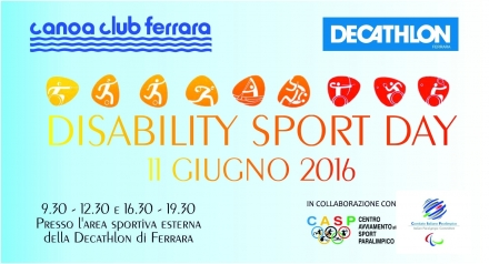DISABILITY SPORT DAY 2016 - In.Da.Co. ASD